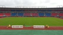 Le stade de Bata, à la veille du match d'ouverture de la CAN 2015. Médard Chablaoui / RFI