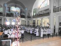 Pèlerinage national des Religieux du Sénégal au Sanctuaire Notre Dame du Sacré-Cœur de Ndiafatte, dans le diocèse de Kaolack