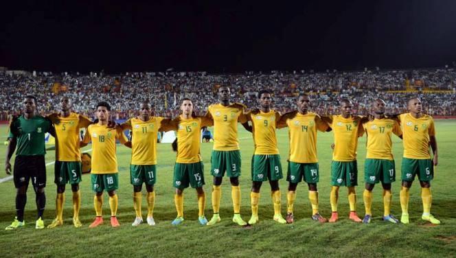 Can 2015 : les bafana bafana pas impressionnés par le statut de favori de l'algérie