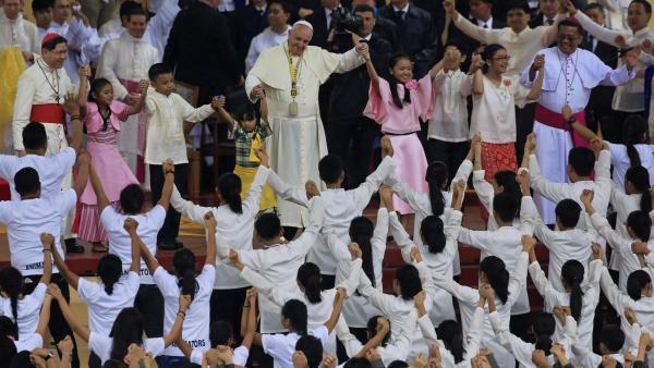 De très nombreux fidèles attendus pour la messe du pape à Manille