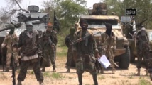 Des membres du groupe Boko Haram dans une vidéo d'avril 2014. AFP PHOTO / BOKO HARAM