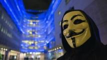 Un partisan du groupe Anonymous, le 23 décembre 2014 à Londres. REUTERS/Neil Hall