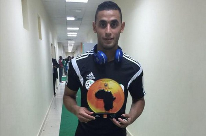 CAN 2015 Algérie-Afrique du Sud: Faouzi Ghoulam, Homme du match