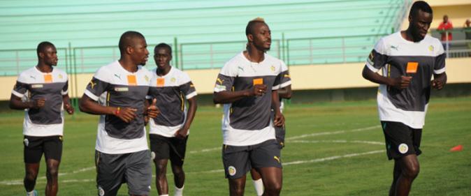 """CAN 2015 Entrainement des """"Lions"""" à Ayola: la stratégie de Giresse contre l'Afrique du Sud"""