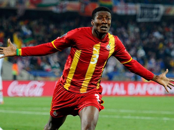 CAN 2015: Asamoah Gyan à l'entraînement avec le Ghana