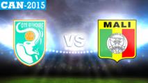 """CAN 2015 Côte d'Ivoire 1-1 Mali: """"Eléphants"""" et """"Aigles"""" en sursis"""