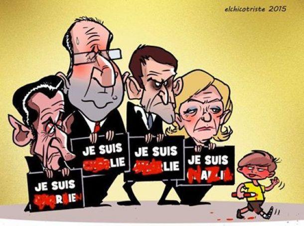 "La France dans la ""guerre des civilisations"" made in Usa : 'charlie' ca sert aussi a relancer l'islamophobie ..."