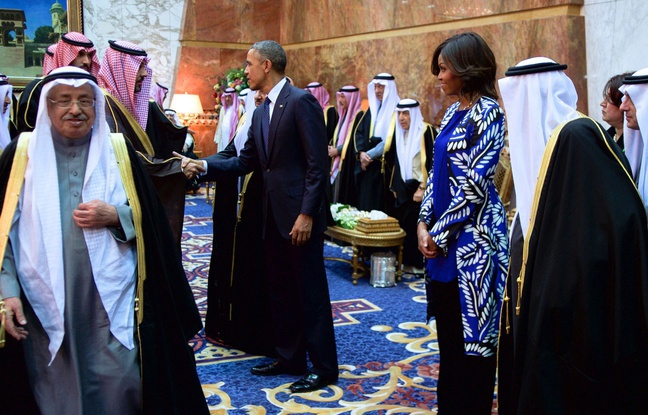 Non voilée, Michelle Obama choque l'Arabie saoudite et crée la polémique