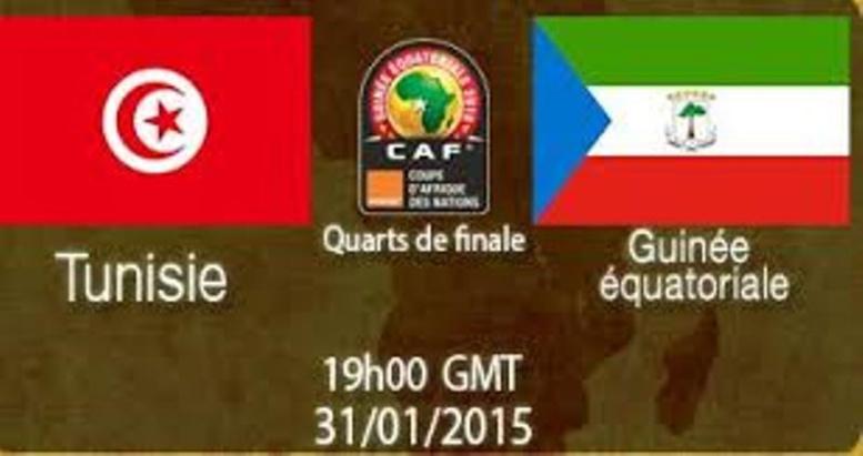 CAN 2015 Guinée Equ.2-1 Tunisie: l'arbitre et Balboa envoient le Nzalang nacional en 1/2