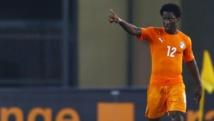 Wilfried Bony, auteur de deux buts, a mis la Côte d'Ivoire sur orbite face à l'Algérie. REUTERS/Amr Abdallah Dalsh