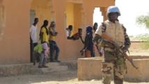 L'opposition malienne a réclamé un renforcement de la présence des autorités dans la région de Gao, suite à une manifestation contre la Minusma qui a dégénéré fin janvier. Ici, un casque bleu dans le village de Fafa, dans la région de Gao. RFI/David Baché