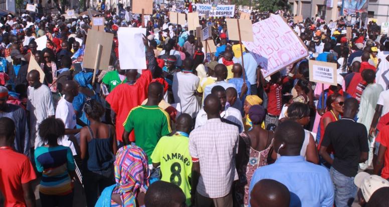 """Le Mouvement """"Xalass"""" dénonce les interdictions de marche"""