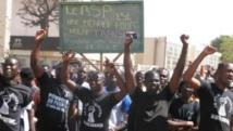 Le slogan principal de cette journée de protestation des organisations de la société civile était «Non au RSP»