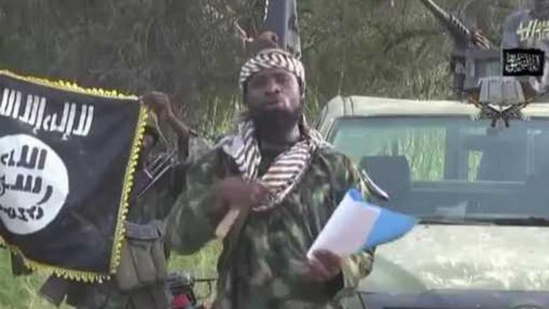 Abubakar Shekau, le chef de Boko Haram (capture d'écran). YouTube