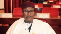 Le président de l'Assemblée nationale du Niger Amadou Salifou, au Parlement, le 24 novembre 2014.