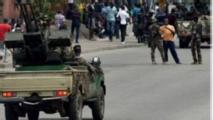 Patrouille de l'armée ivoirienne à Bouaké