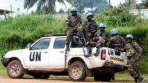 Les casques bleus de l'ONU en RDC