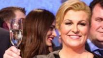Kolinda Grabar-Kitarovic a remporté la présidentielle croatienne de janvier 2015.
