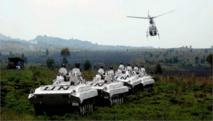 Les FARDC ont lancé jeudi 29 janvier 2015 les opérations militaires «Sokola2» pour le désarmement des rebelles rwandais des FDLR. La Monusco a salué cette décision et annoncé qu'elle soutiendrait l'armée congolaise «opérationnellement et logistiquement». Photo Monusco/Force