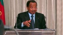 Paul Biya, le président camerounais, hôte du sommet, et ses homologues chefs d'Etat et de gouvernement vont notamment travailler à définir le mandat d'une force régionale chargée de lutter contre Boko Haram. AFP PHOTO / REINNIER KAZE