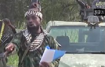 Abubakar Shekau, chef présumé de boko haram (photo d'archives)