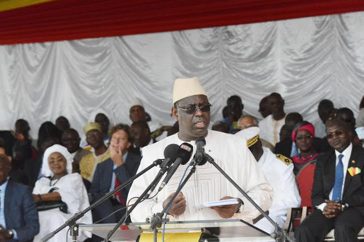 Inauguration des navires Aguène et Diambone : Macky Sall, « je ferais de la Casamance une zone touristique spéciale d'intérêt national »