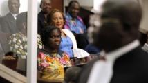 Simone Gbagbo, l'ex-première dame ivoirienne, dans le box des accusés, le 26 décembre 2014. REUTERS/Luc Gnago