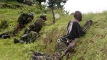 Des soldats de l'armée congolaise en opération au nord de Goma, le 31 octobre 2013. REUTERS/Kenny Katombe