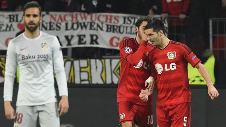 Ligue des champions, Leverkusen - Atlético (1-0) : L'Atlético a vécu une sale soirée