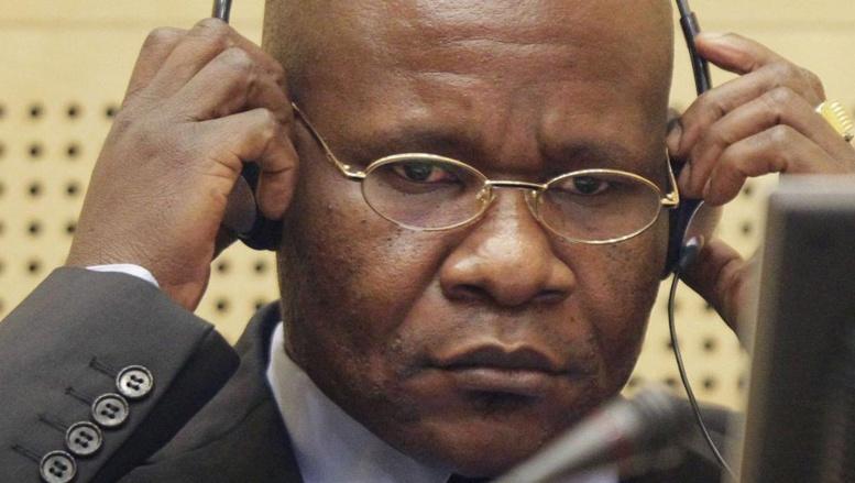 Mathieu Ngudjolo Chui lors de son procès devant la CPI pour crimes de guerre. REUTERS/Michael Kooren