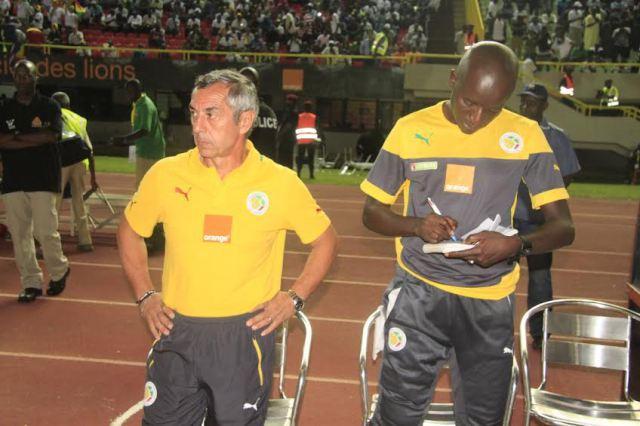 Alain Giresse solde les comptes avec son adjoint Boubacar Gadiaga