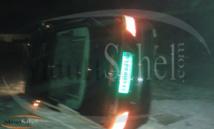 Spectaculaire accident à Nouadhibou-Mauritanie: La voiture de l'ambassadeur du Sénégal se retrouve les pneus en l'air