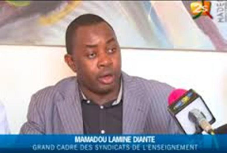 «Camarades, c'est cette année ou jamais», Mamadou Lamine Dianté du Grand cadre