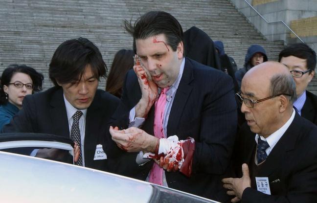 L'ambassadeur Américain agressé en Corée du Sud