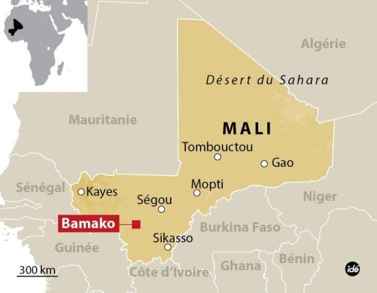 Cinq morts dans un acte terroriste à Bamako
