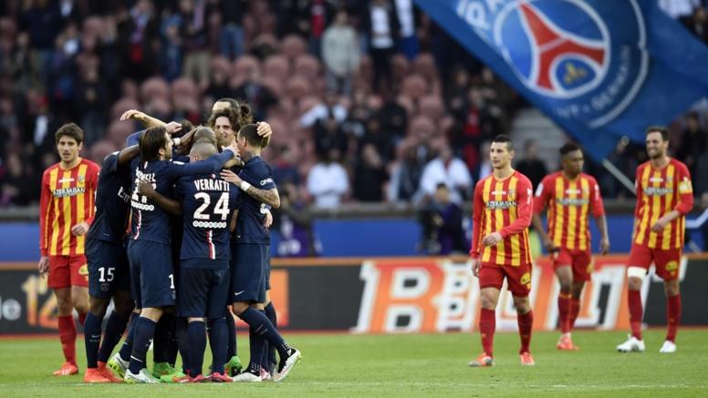 Ligue  1, 28e journée : Le PSG bat Lens (4-1) et prend provisoirement la tête