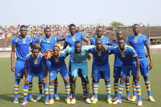 Coupe CAF, ordre de réception inversé: L'Olympique de Ngor se déplacera à Accra
