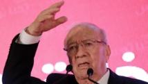 Beji Caïd Essebsi était le ciment de Nida Tounes. Désormais président, il laisse le parti en proie aux querelles internes. REUTERS/Anis Mili
