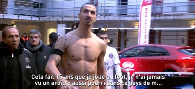 Zlatan Ibrahimovic viré du PSG ? : « La France un pays de merde ! »