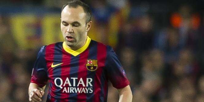 Andres Iniesta: «On devra faire courir Manchester City»