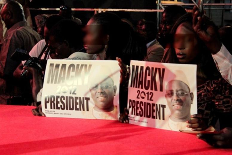 «Macky 2012» dénonce les agissements du Pds pour déstabiliser le Sénégal