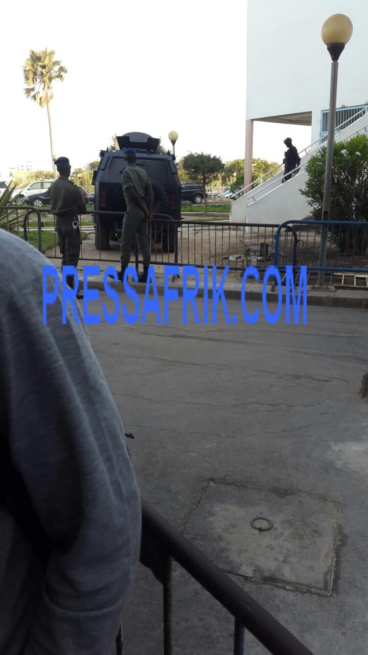 Direct Verdict Karim et cie. : Le tribunal bunkerisé - GIGN et autres corps d'élite en alerte