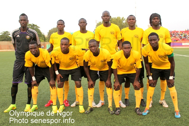 Coupe CAF: Olympique de Ngor out