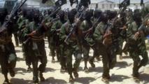 Des combattants du groupe al-Shebab