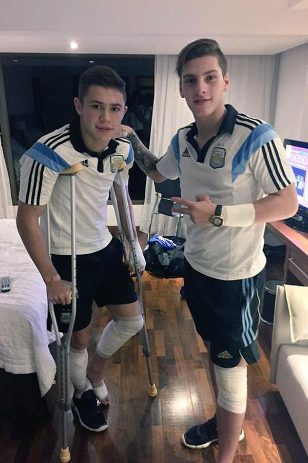 Un U17 argentin chute de son hôtel après un but sur FIFA 15 !