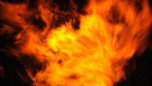 Dernière minute, incendie en face du ministère des collectivités locales