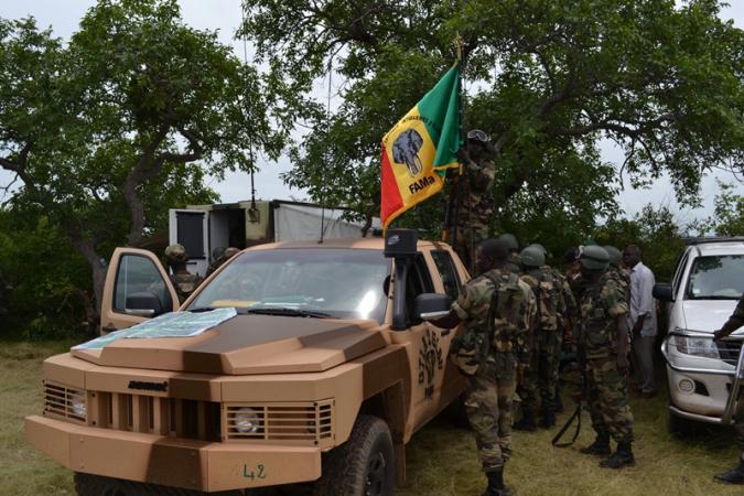 Mali: Un véhicule des FAMA saute sur un engin explosif, tuant deux militaires