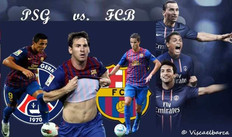 LdC : attaque-défense, le Barça domine le PSG