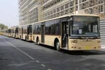 Bus DDD peints en beigne marron: Un combat contre leur circulation en gestation