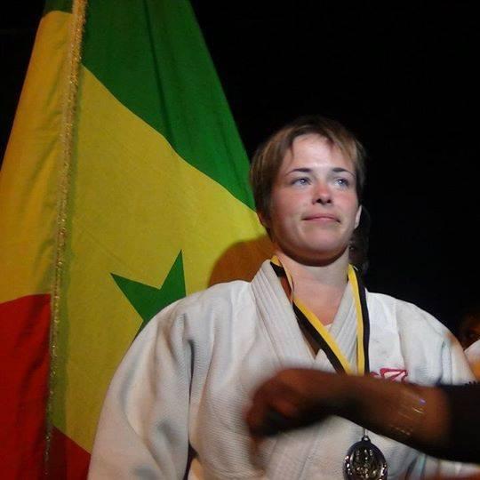 Judo: Léa Buet aux couleurs sénégalaises